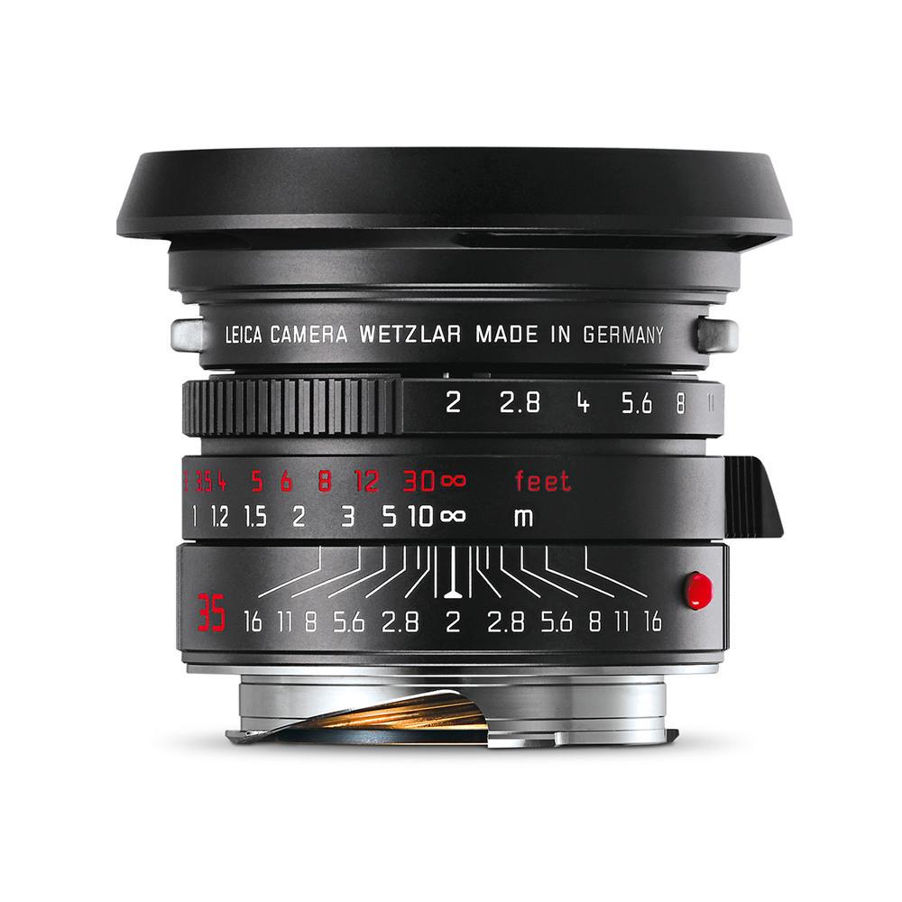 Leica 35mm 2.0 Summicron Black chrome