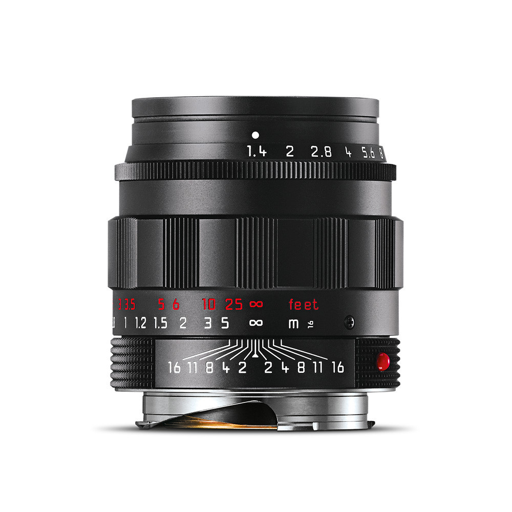 Leica 50mm Summilux Black Chrome