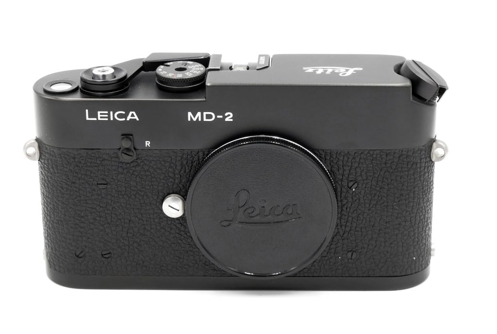 Leica MD-2 camera front view