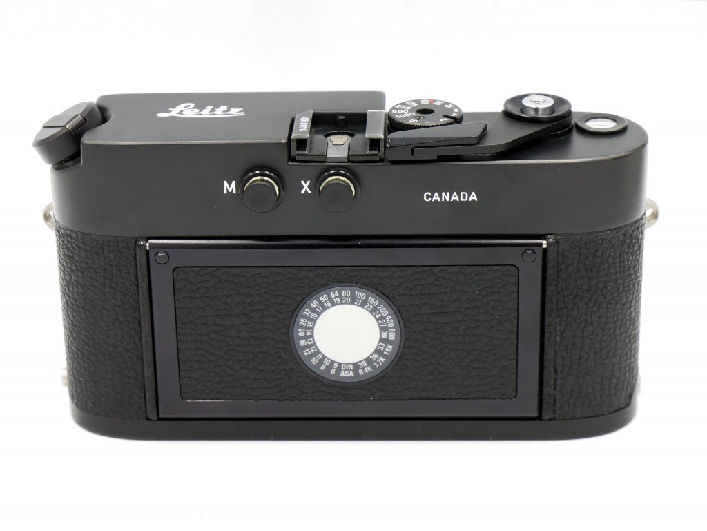 Leica MD-2 Back view