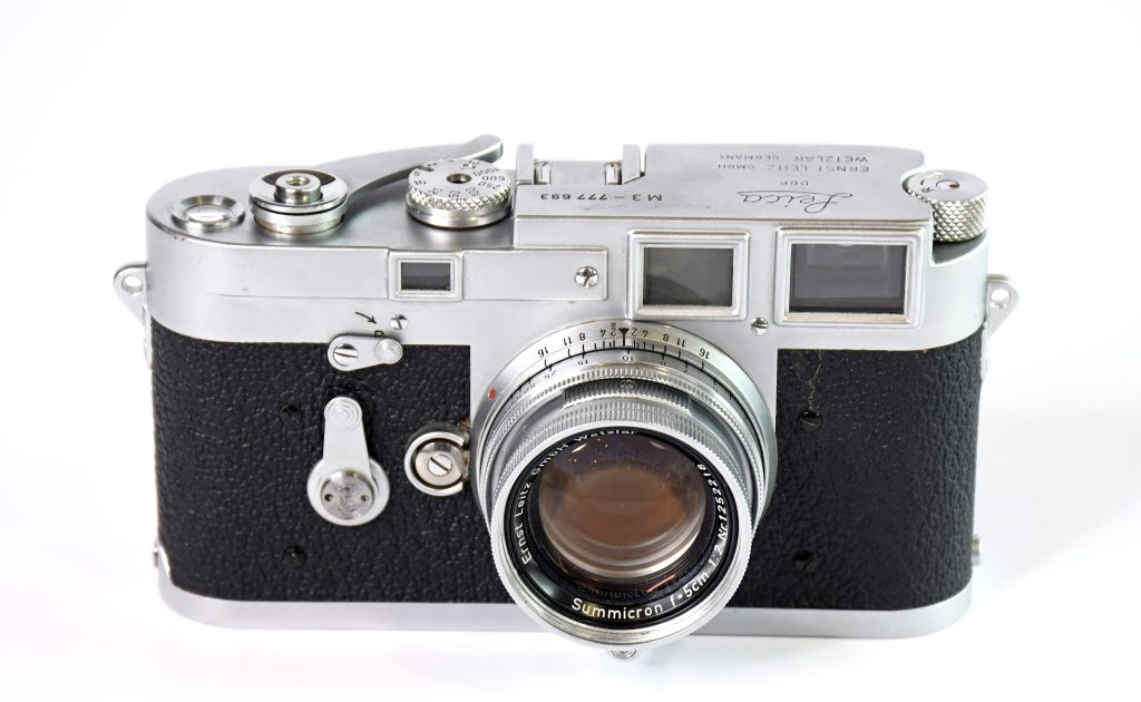 Front view of Leica M3